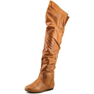 Women's Over The Knee Slouch Fashion Dress Boots